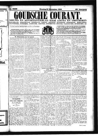 Goudsche Courant 1926-12-21