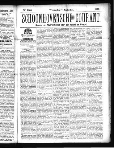 Schoonhovensche Courant 1895-08-07