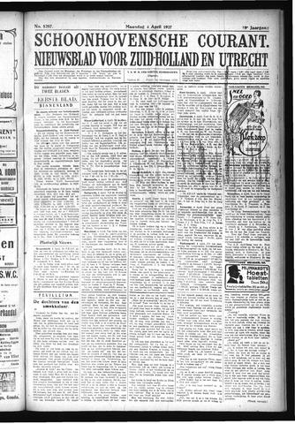 Schoonhovensche Courant 1927-04-04