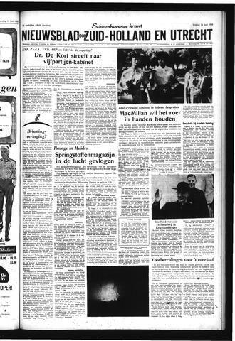 Schoonhovensche Courant 1963-06-14