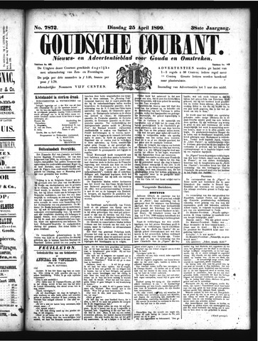 Goudsche Courant 1899-04-25