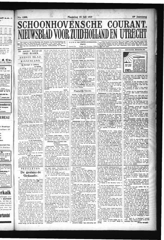 Schoonhovensche Courant 1927-07-18
