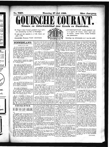 Goudsche Courant 1896-07-27