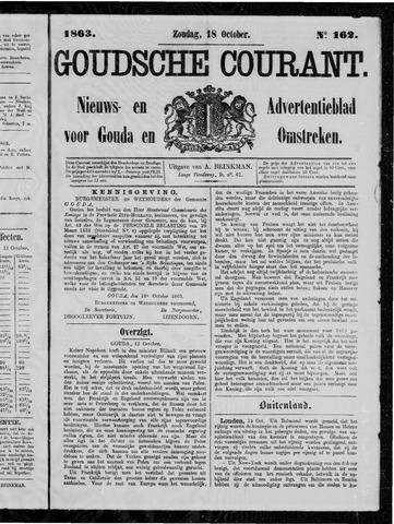 Goudsche Courant 1863-10-18