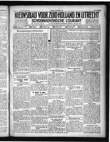 Schoonhovensche Courant 1936-12-18