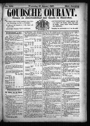 Goudsche Courant 1897-01-27