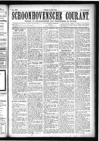 Schoonhovensche Courant 1923-07-06
