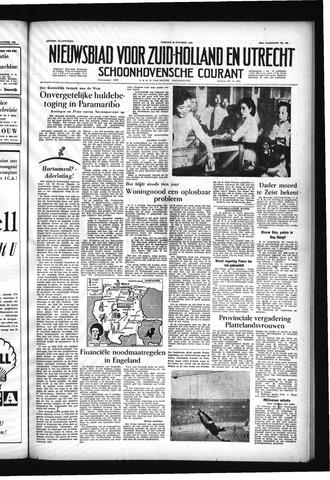 Schoonhovensche Courant 1955-10-28