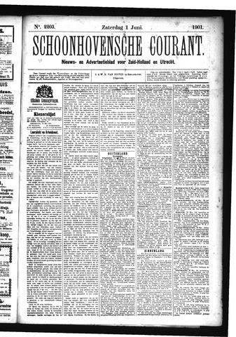 Schoonhovensche Courant 1901-06-01
