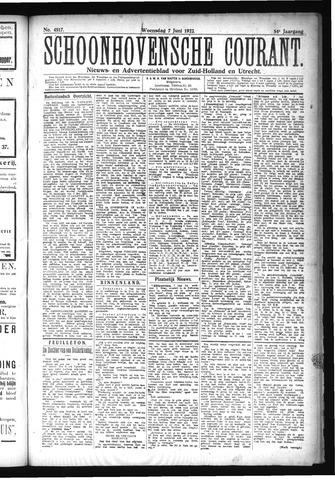 Schoonhovensche Courant 1922-06-07
