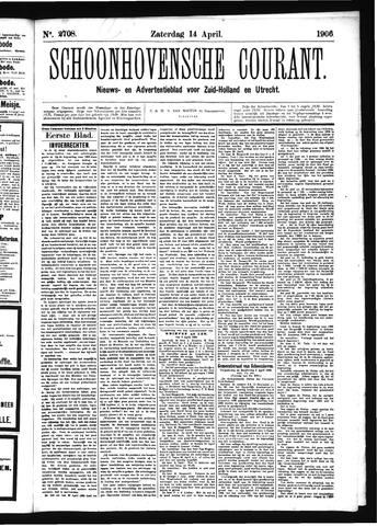 Schoonhovensche Courant 1906-04-14