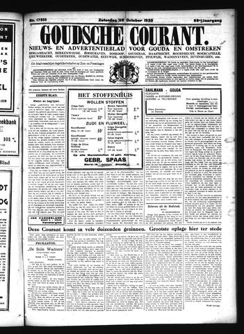 Goudsche Courant 1930-10-25