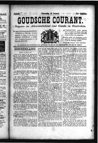 Goudsche Courant 1887-01-26