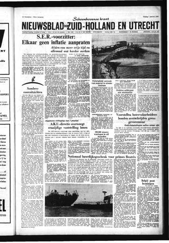 Schoonhovensche Courant 1966-01-07