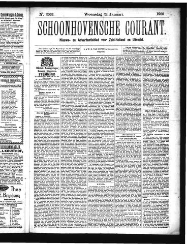 Schoonhovensche Courant 1900-01-24
