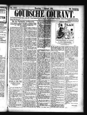 Goudsche Courant 1921-02-07
