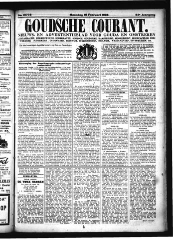 Goudsche Courant 1925-02-16