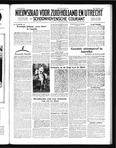 Schoonhovensche Courant 1952-04-23