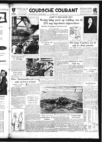 Goudsche Courant 1956-08-09