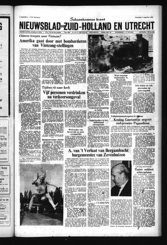Schoonhovensche Courant 1965-08-09