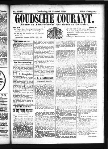 Goudsche Courant 1910-01-27