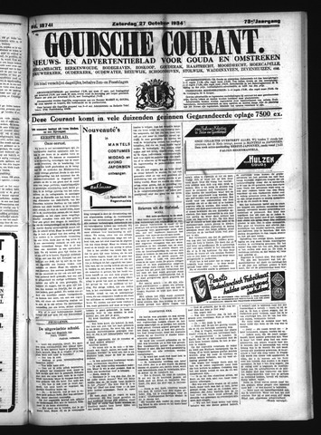 Goudsche Courant 1934-10-27