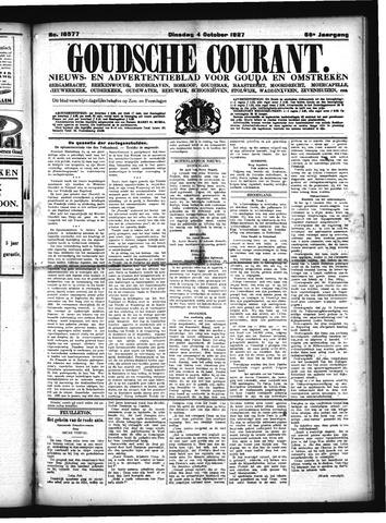 Goudsche Courant 1927-10-04