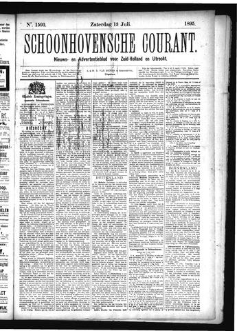 Schoonhovensche Courant 1895-07-13