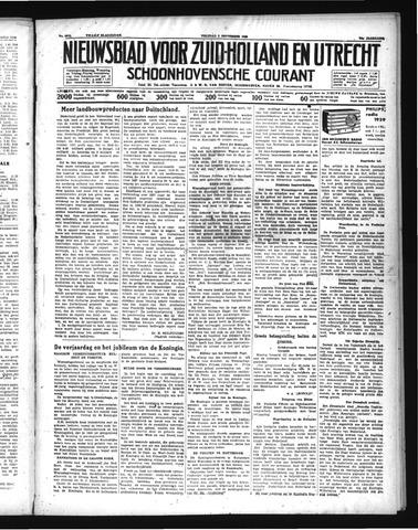 Schoonhovensche Courant 1938-09-02