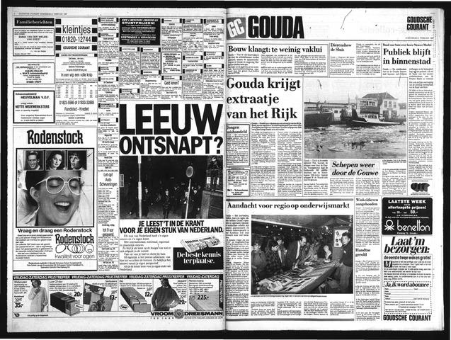 Goudsche Courant 1987-02-05