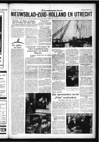 Schoonhovensche Courant 1960-10-26