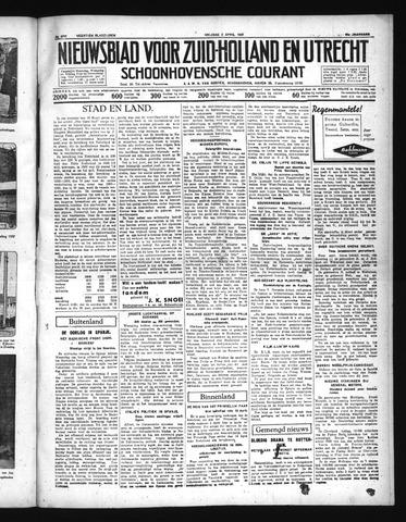 Schoonhovensche Courant 1937-04-02