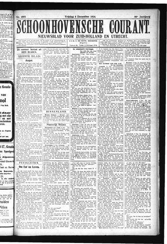 Schoonhovensche Courant 1924-12-05