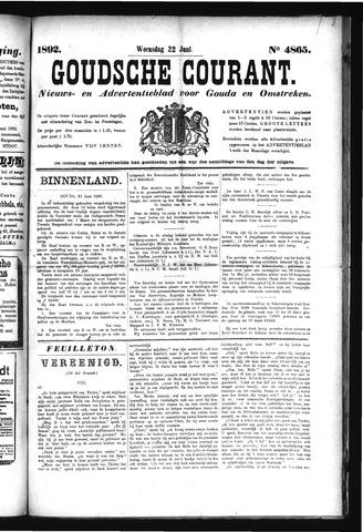 Goudsche Courant 1892-06-22