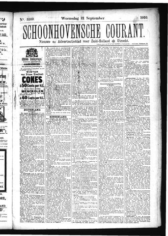 Schoonhovensche Courant 1910-09-21