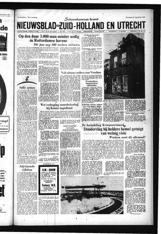 Schoonhovensche Courant 1967-09-27