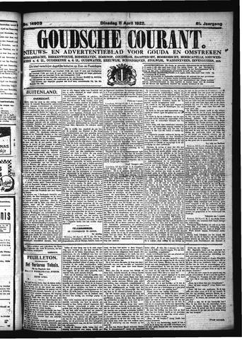 Goudsche Courant 1922-04-11