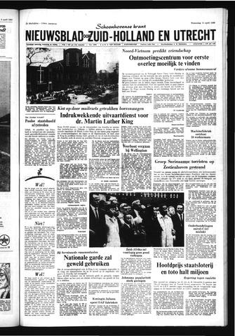 Schoonhovensche Courant 1968-04-10