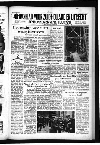 Schoonhovensche Courant 1955-09-09