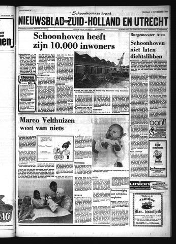 Schoonhovensche Courant 1974-11-01