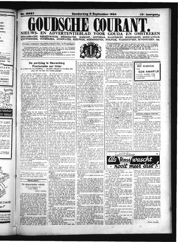 Goudsche Courant 1934-09-06
