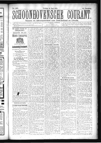 Schoonhovensche Courant 1922-06-16