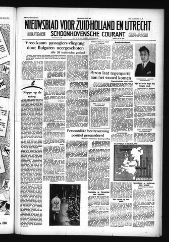 Schoonhovensche Courant 1955-07-29