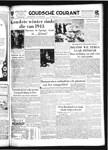 Goudsche Courant 1954-02-02