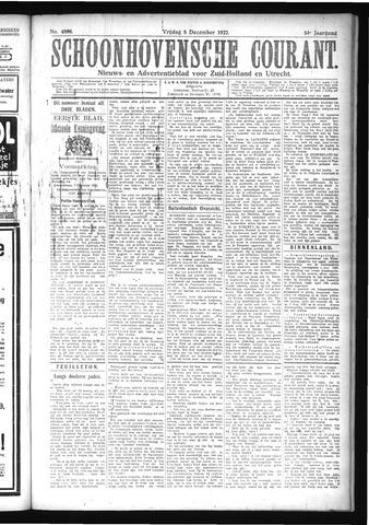 Schoonhovensche Courant 1922-12-08
