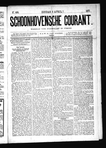 Schoonhovensche Courant 1877-04-08