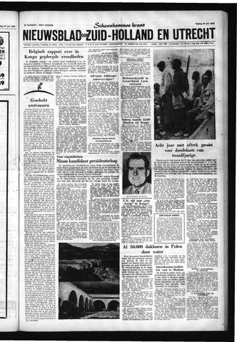 Schoonhovensche Courant 1960-07-29