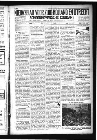 Schoonhovensche Courant 1932-01-18