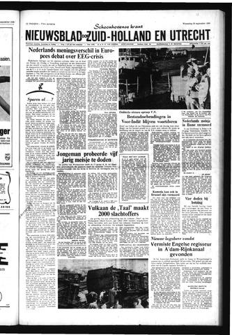 Schoonhovensche Courant 1965-09-29