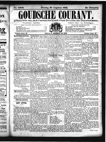 Goudsche Courant 1912-08-20